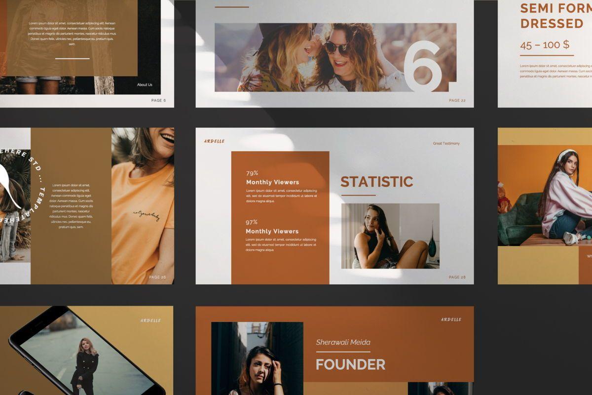 Ardelle Creative Powerpoint, Slide 7, 06336, Presentation Templates — PoweredTemplate.com