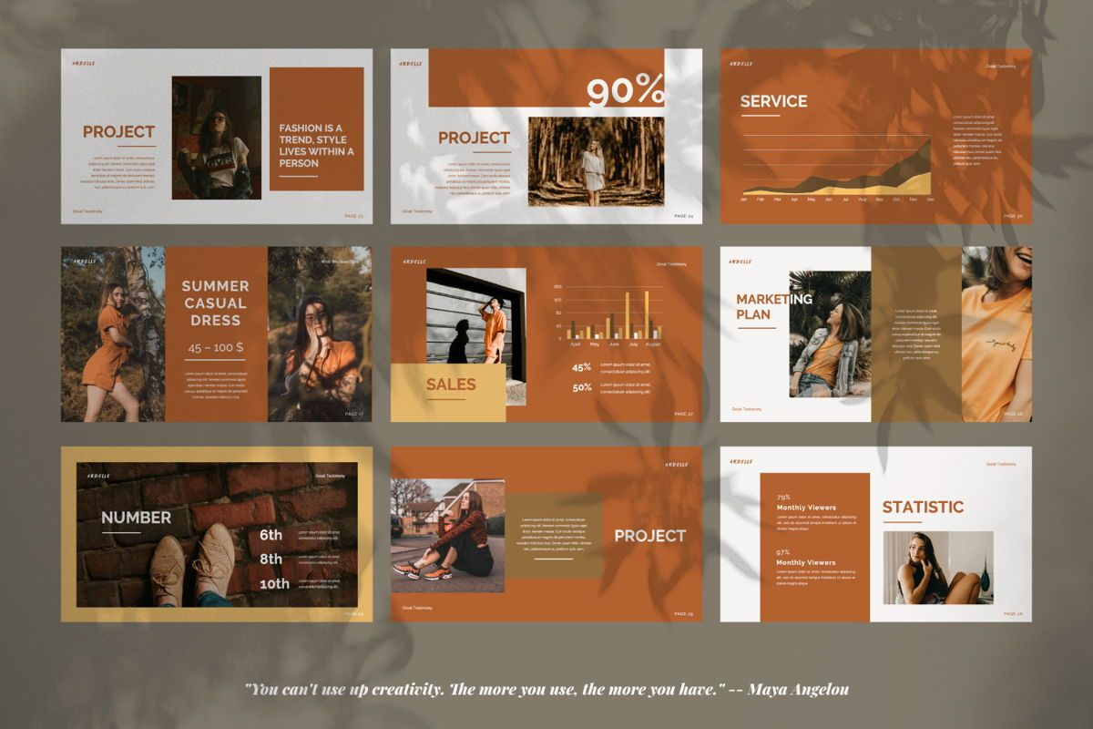 Ardelle Creative Keynote, Slide 3, 06338, Presentation Templates — PoweredTemplate.com