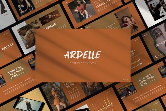 Presentation Templates: Ardelle Creative Google Slide #06339