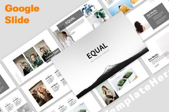 Presentation Templates: Equal Creative Google Slide #06343