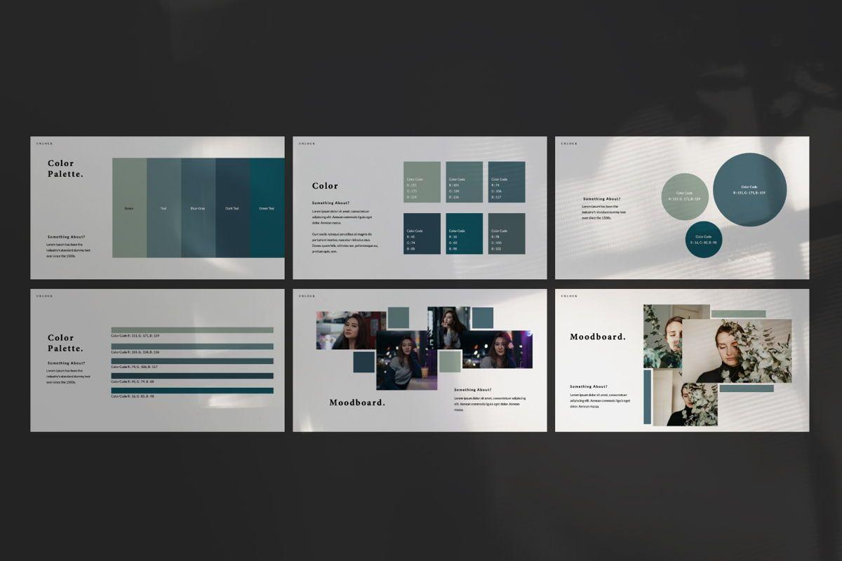 Unlock Creative Google Slide, Slide 5, 06344, Presentation Templates — PoweredTemplate.com
