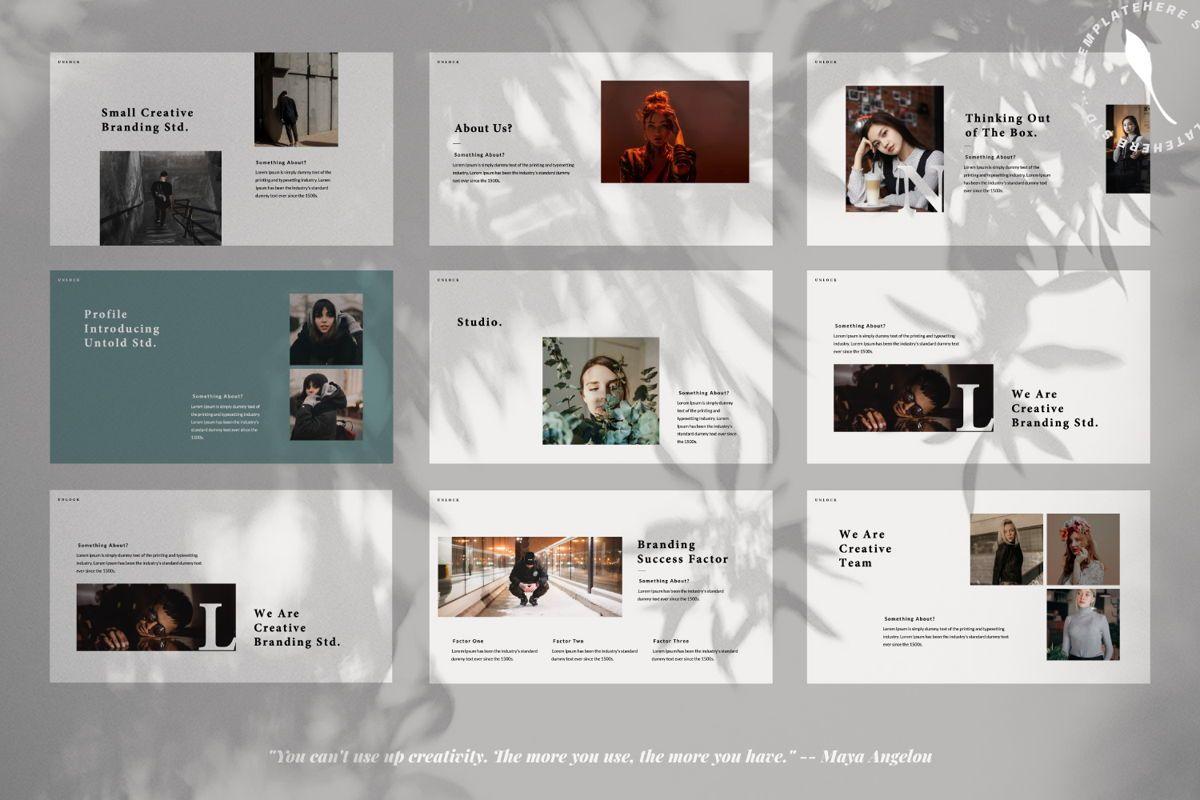 Unlock Creative Keynote, Slide 2, 06346, Presentation Templates — PoweredTemplate.com
