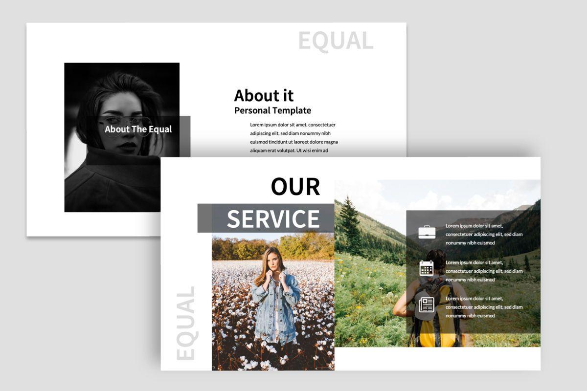 Equal Creative Keynote, Slide 7, 06347, Presentation Templates — PoweredTemplate.com