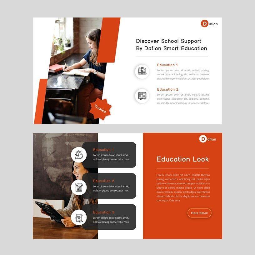 Dafian - PowerPoint Presentation Template, Slide 2, 06352, Presentation Templates — PoweredTemplate.com