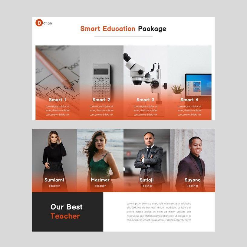 Dafian - PowerPoint Presentation Template, Slide 5, 06352, Presentation Templates — PoweredTemplate.com