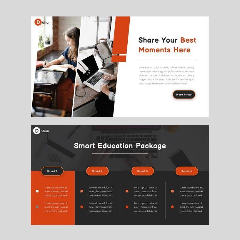 Dafian - PowerPoint Presentation Template, Slide 6, 06352, Presentation Templates — PoweredTemplate.com
