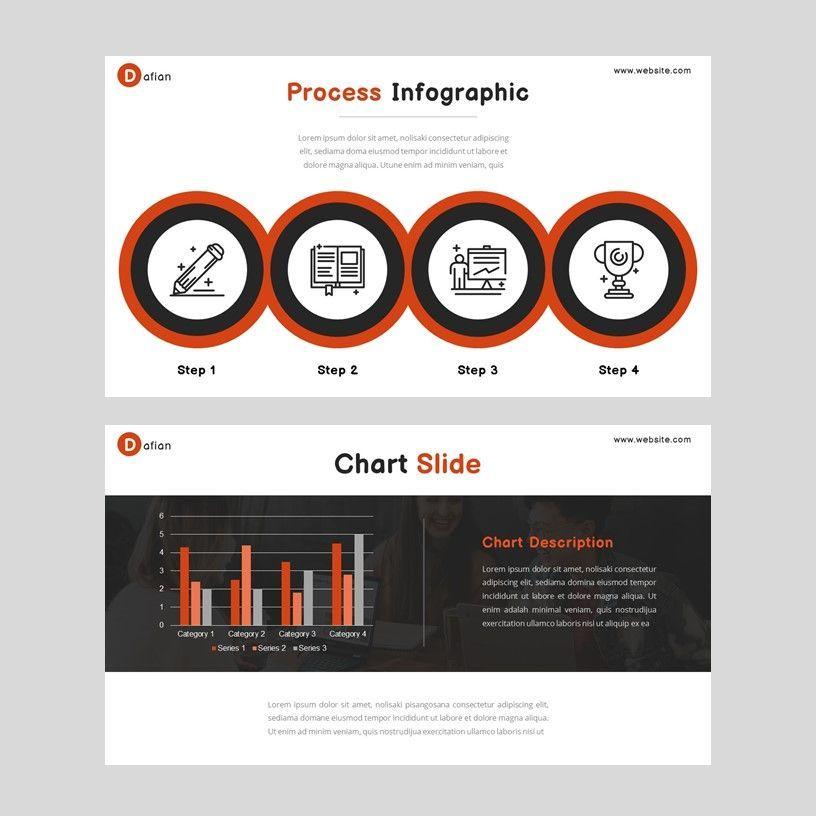 Dafian - PowerPoint Presentation Template, Slide 8, 06352, Presentation Templates — PoweredTemplate.com