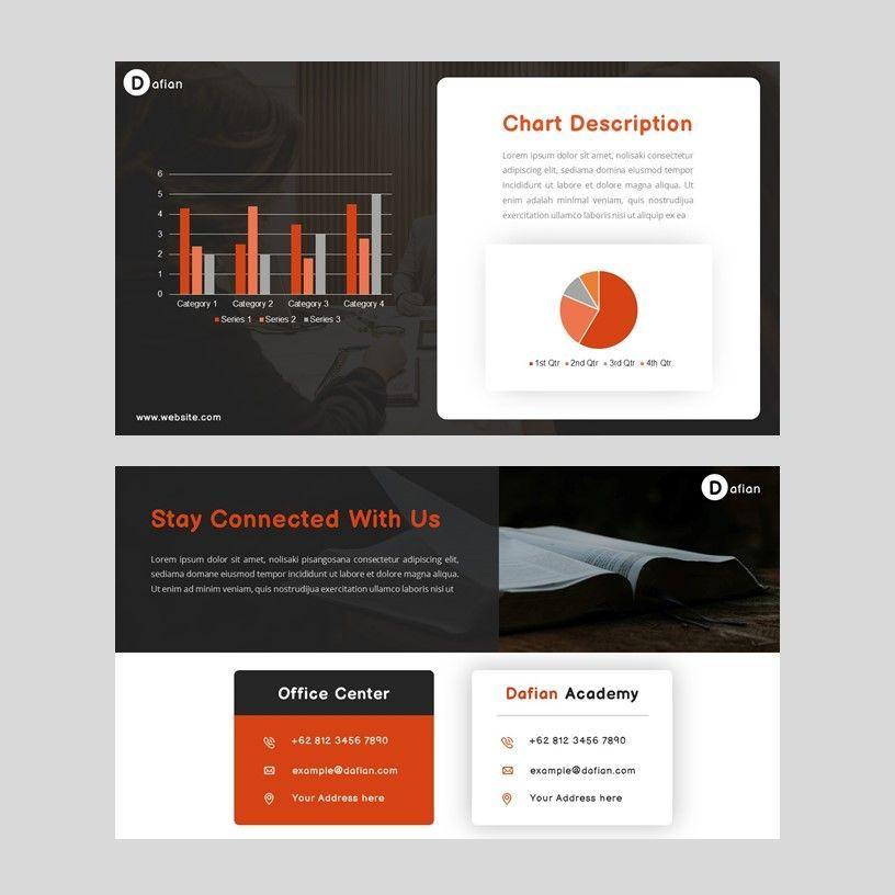 Dafian - PowerPoint Presentation Template, Slide 9, 06352, Presentation Templates — PoweredTemplate.com