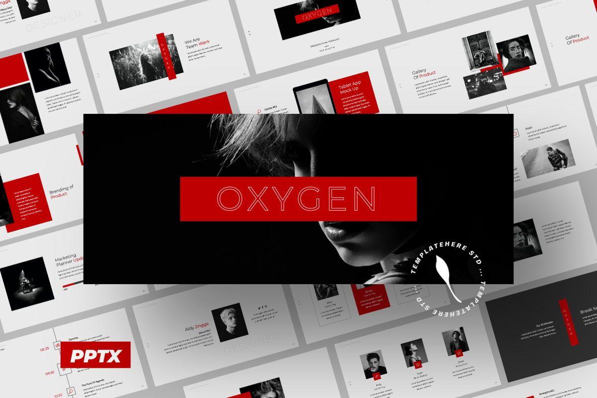 Oxygen Creative Powerpoint, 06353, Presentation Templates — PoweredTemplate.com
