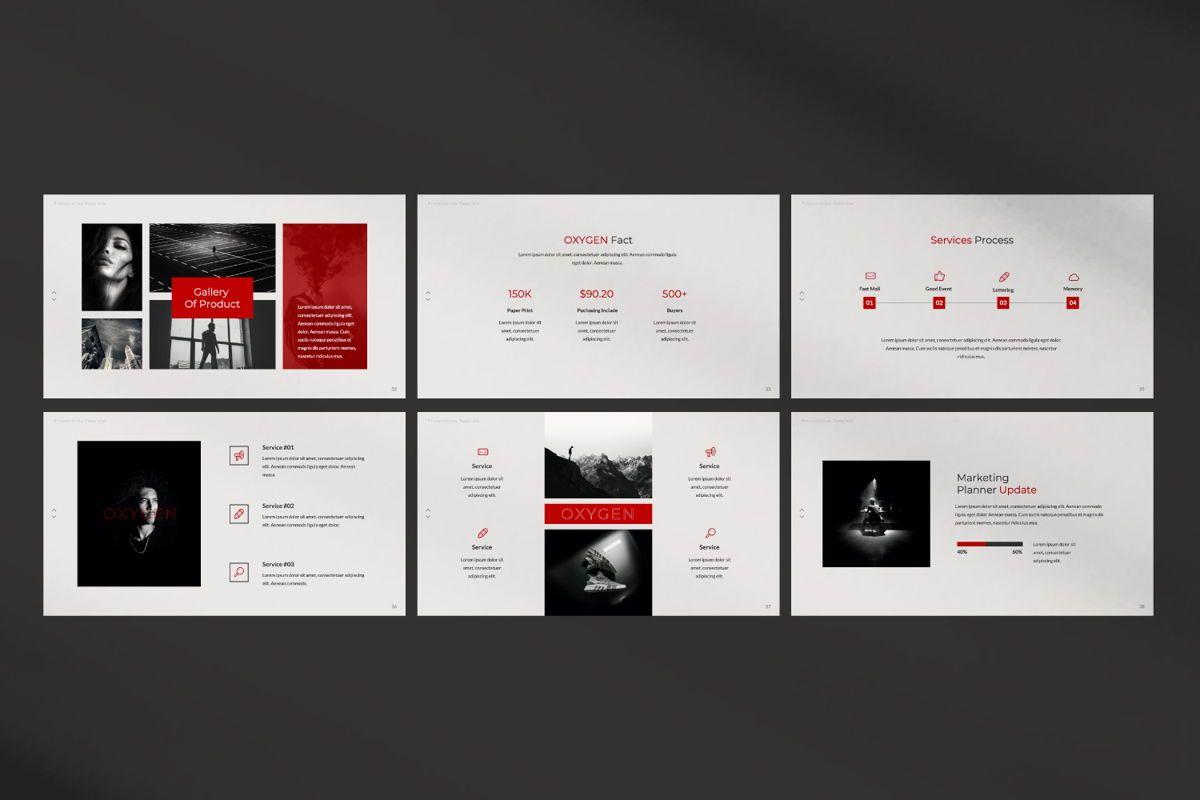 Oxygen Creative Google Slide, Slide 5, 06355, Presentation Templates — PoweredTemplate.com