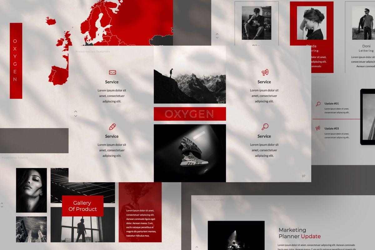 Oxygen Creative Google Slide, Slide 7, 06355, Presentation Templates — PoweredTemplate.com