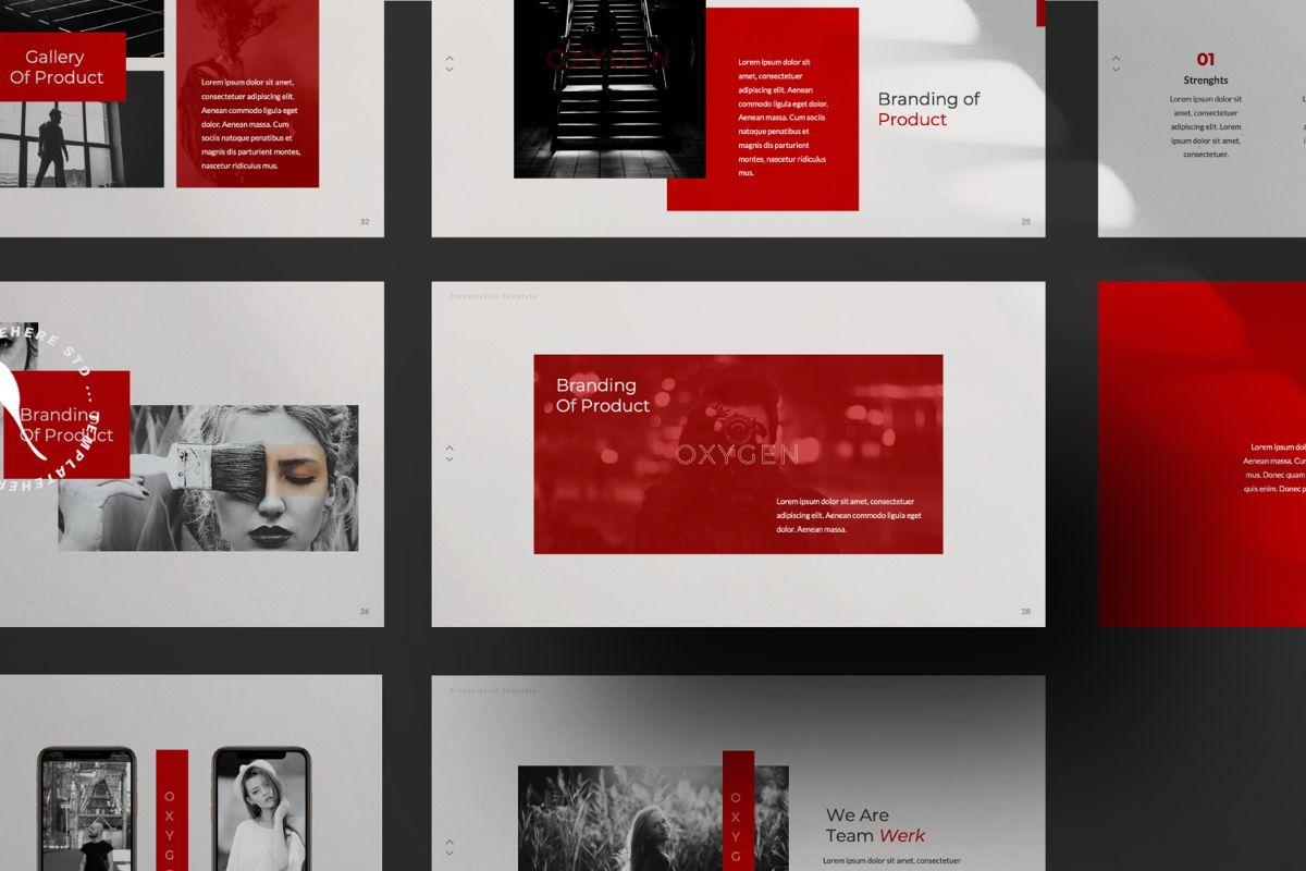 Oxygen Creative Google Slide, Slide 8, 06355, Presentation Templates — PoweredTemplate.com