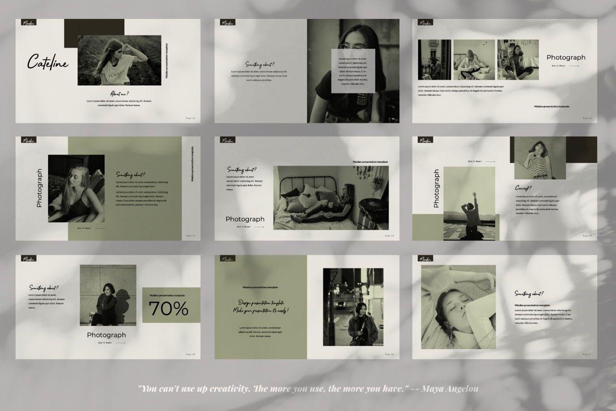 Maiden Creative Powerpoint, Slide 3, 06356, Presentation Templates — PoweredTemplate.com