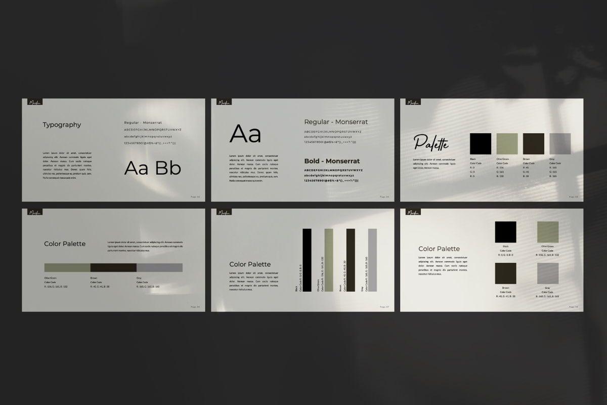 Maiden Creative Google Slide, Slide 6, 06358, Presentation Templates — PoweredTemplate.com