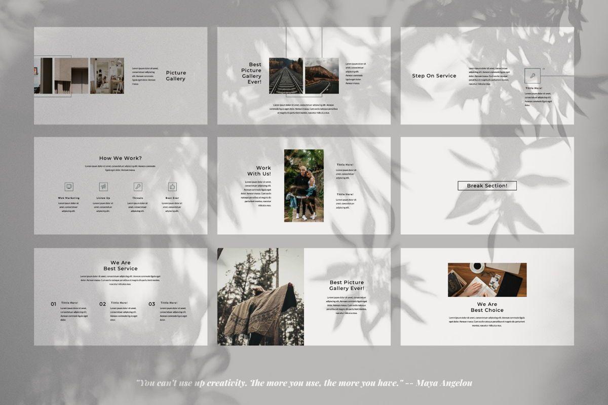 Rewind Creative Powerpoint, Slide 4, 06362, Presentation Templates — PoweredTemplate.com