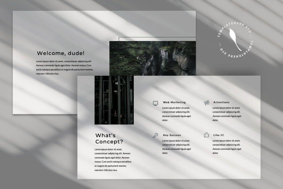 Rewind Creative Keynote, Slide 8, 06363, Presentation Templates — PoweredTemplate.com