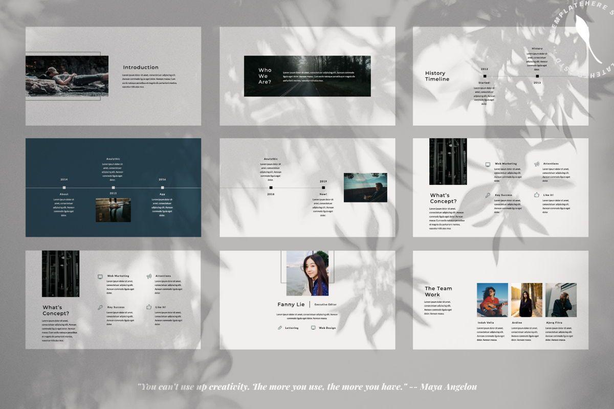 Rewind Creative Google Slide, Slide 2, 06364, Presentation Templates — PoweredTemplate.com