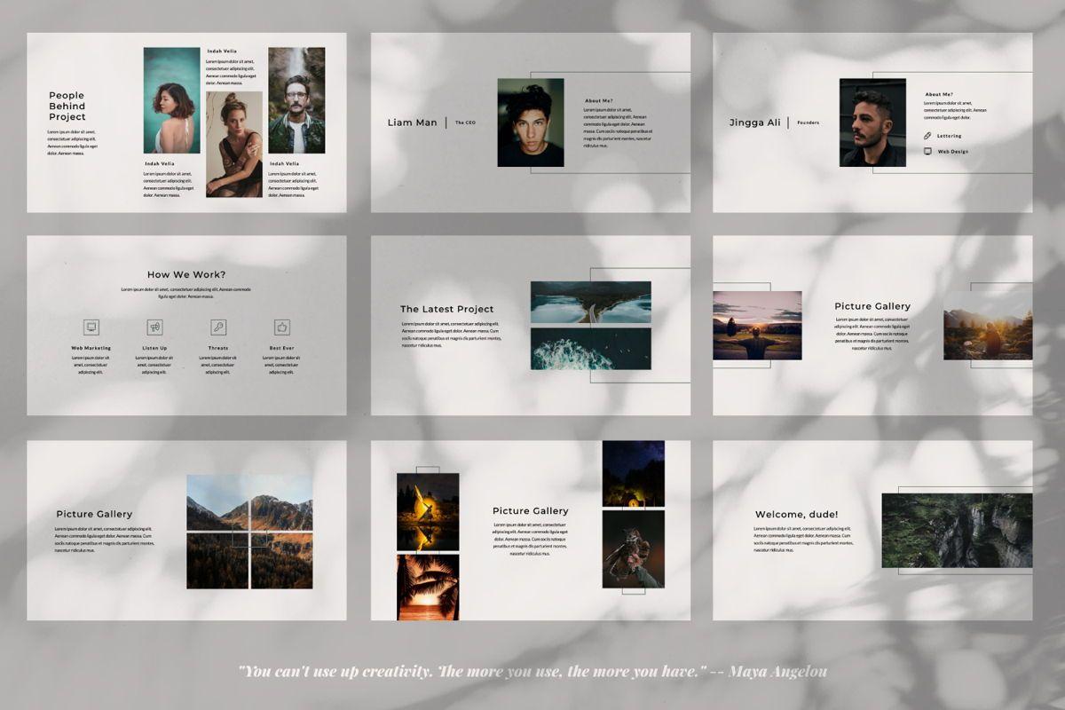 Rewind Creative Google Slide, Slide 3, 06364, Presentation Templates — PoweredTemplate.com