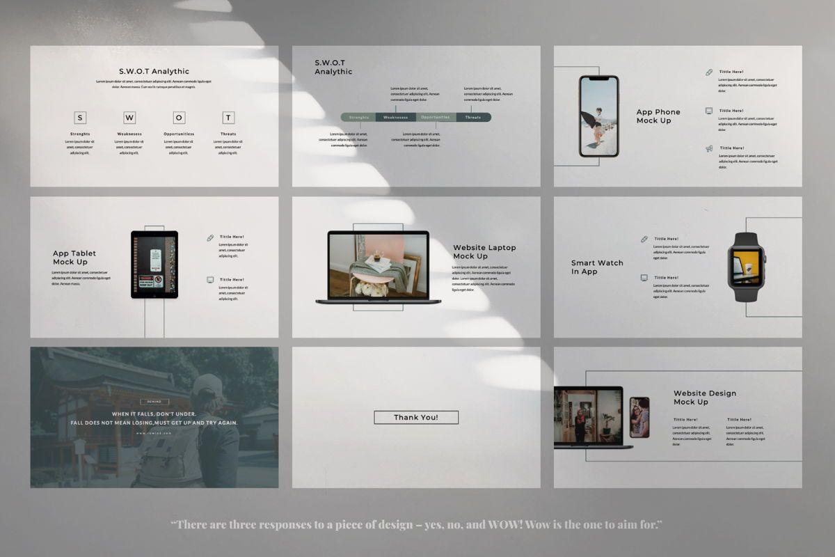 Rewind Creative Google Slide, Slide 5, 06364, Presentation Templates — PoweredTemplate.com