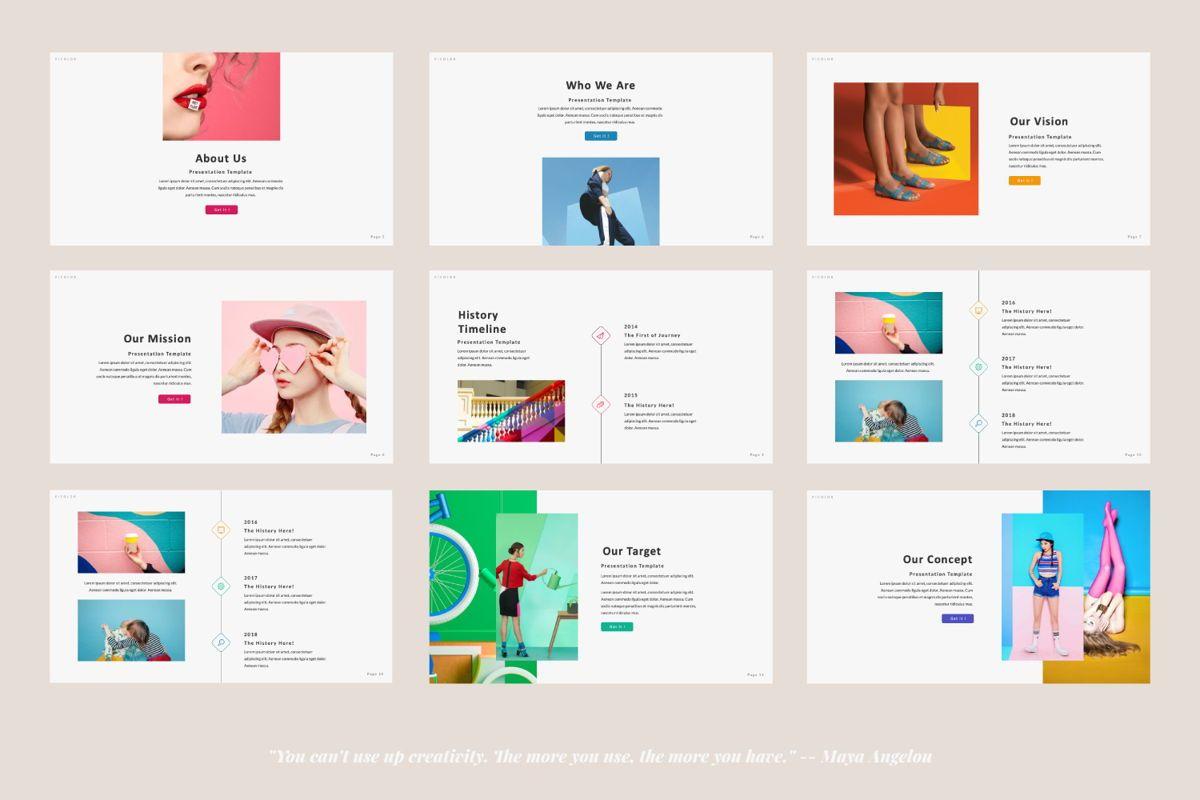 Picolor Creative Powerpoint, Slide 2, 06365, Presentation Templates — PoweredTemplate.com