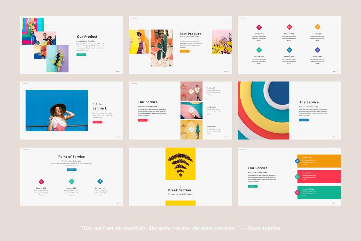 Picolor Creative Powerpoint, Slide 4, 06365, Presentation Templates — PoweredTemplate.com