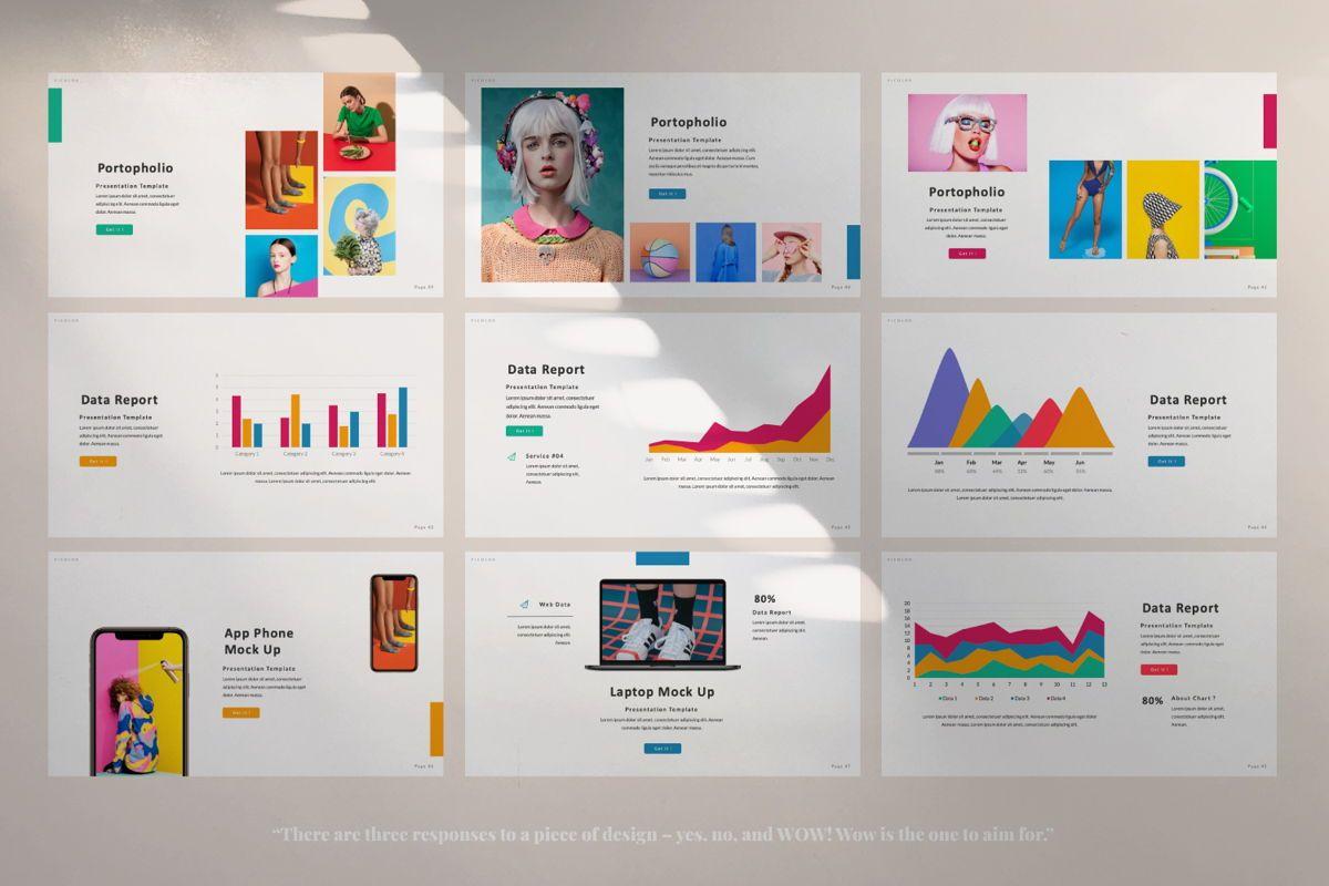 Picolor Creative Powerpoint, Slide 5, 06365, Presentation Templates — PoweredTemplate.com