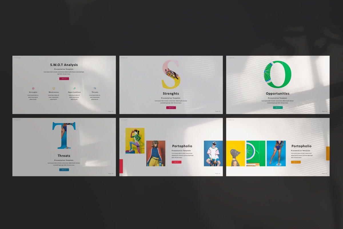 Picolor Creative Powerpoint, Slide 6, 06365, Presentation Templates — PoweredTemplate.com