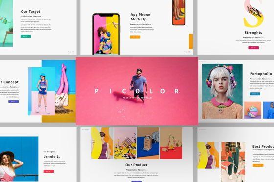 Presentation Templates: Picolor Creative Google Slide #06367