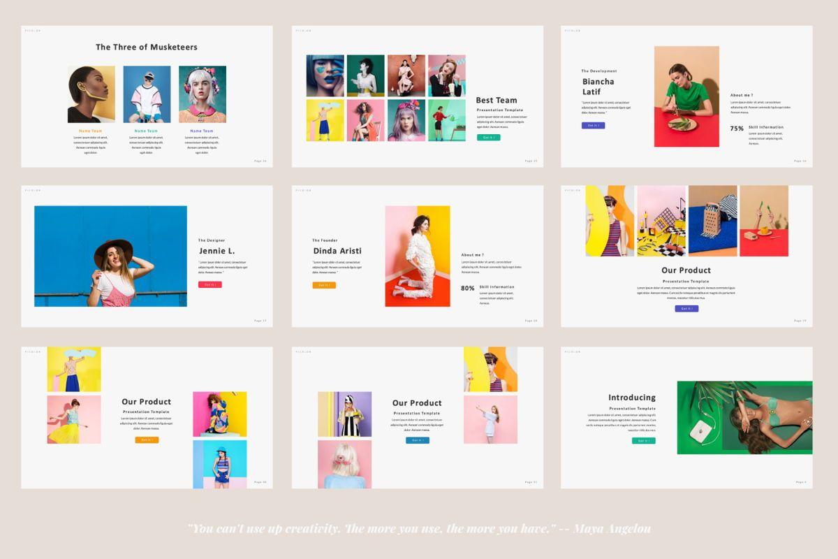 Picolor Creative Google Slide, Slide 3, 06367, Presentation Templates — PoweredTemplate.com