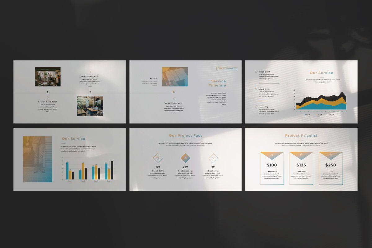 Good Project Creative Powerpoint, Slide 6, 06368, Presentation Templates — PoweredTemplate.com