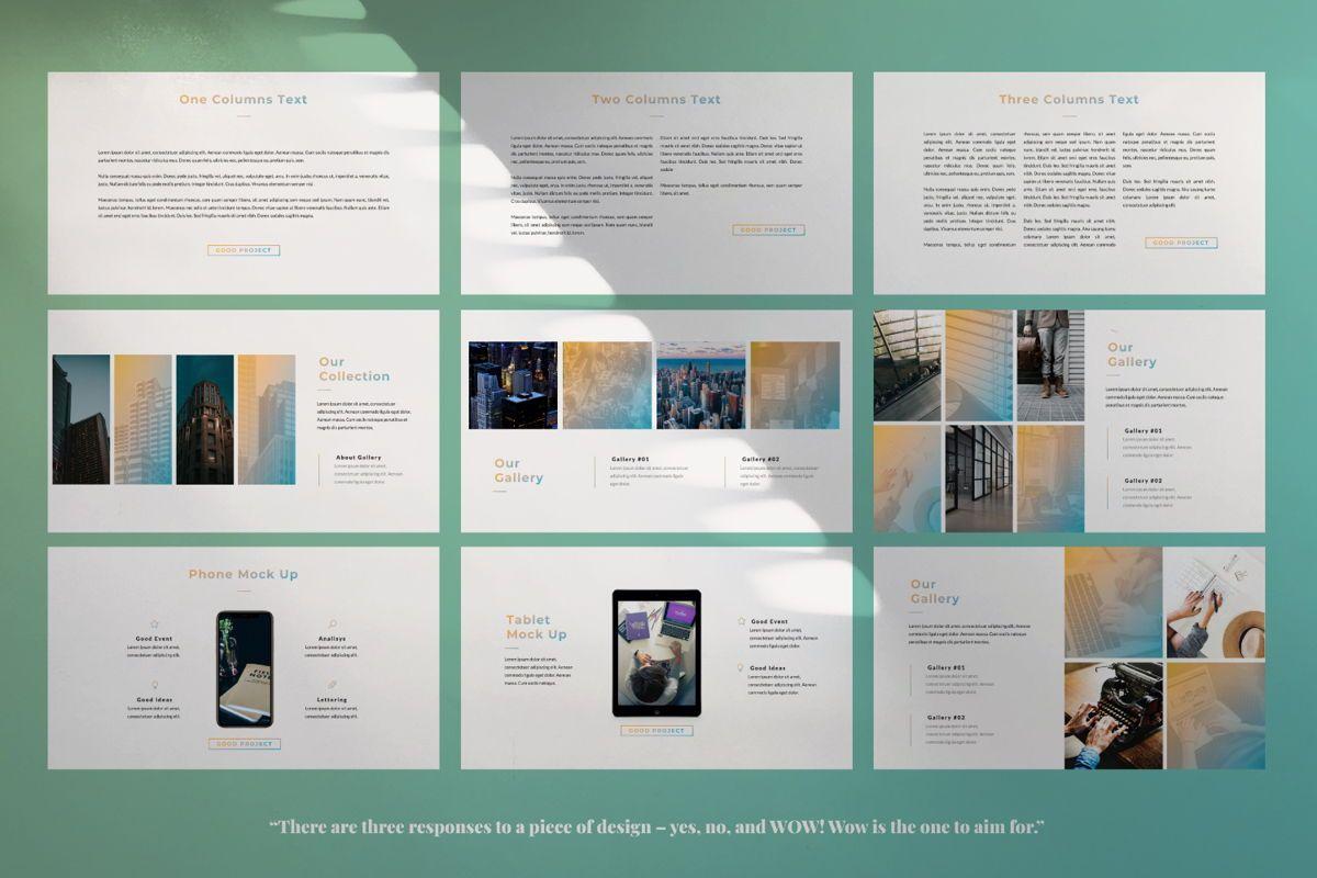 Good Project Creative Keynote, Slide 5, 06369, Presentation Templates — PoweredTemplate.com