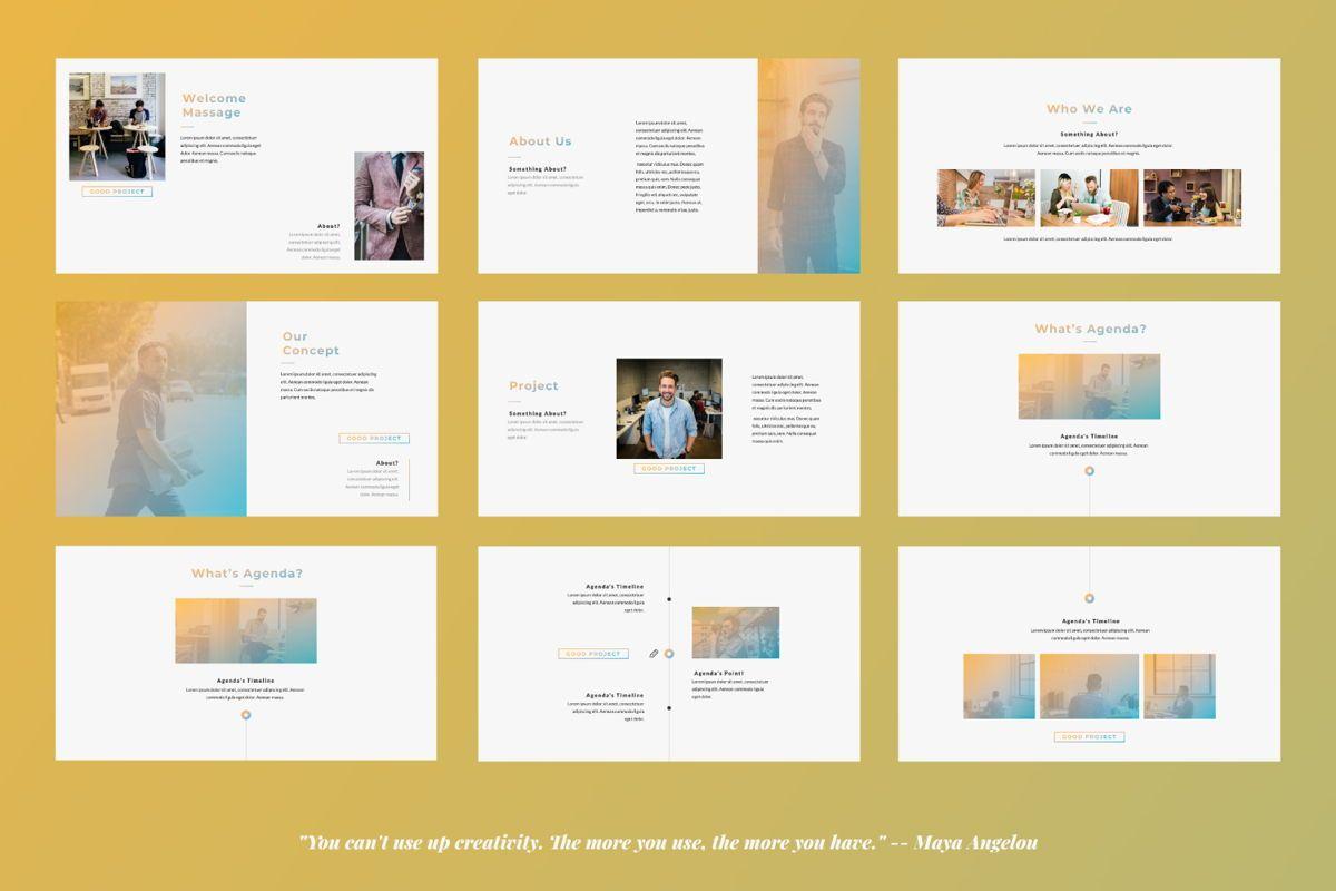 Good Project Creative Google Slide, Slide 2, 06370, Presentation Templates — PoweredTemplate.com