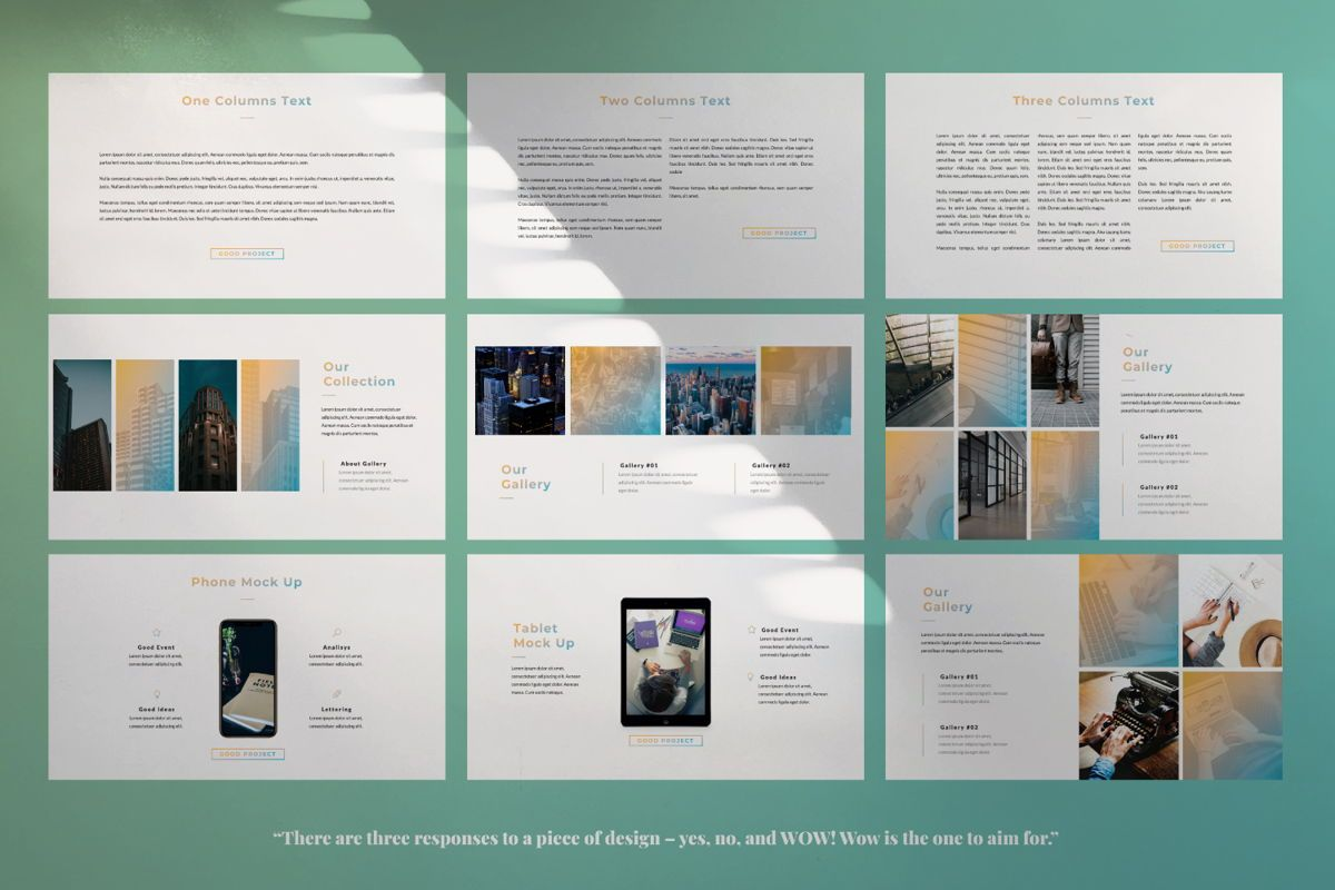 Good Project Creative Google Slide, Slide 5, 06370, Presentation Templates — PoweredTemplate.com