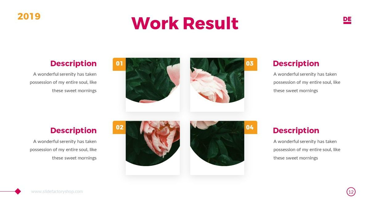 Derulo - Fashion Powerpoint Template, Slide 13, 06371, Data Driven Diagrams and Charts — PoweredTemplate.com