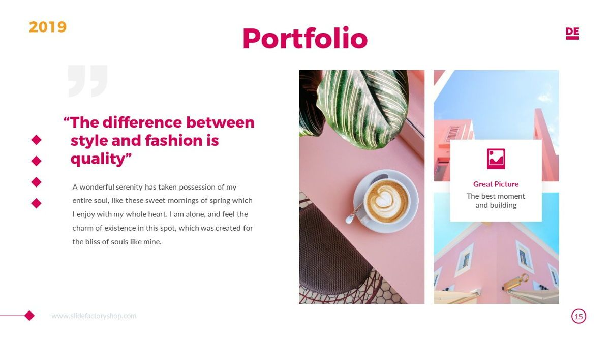 Derulo - Fashion Powerpoint Template, Slide 16, 06371, Data Driven Diagrams and Charts — PoweredTemplate.com