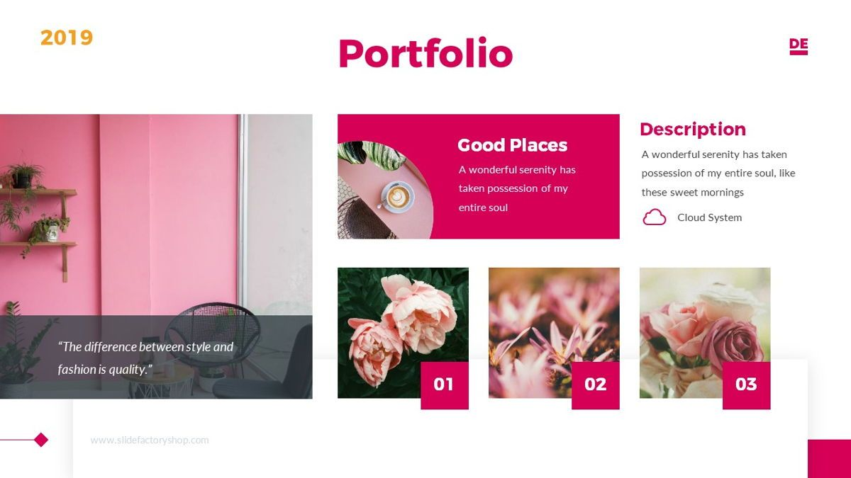 Derulo - Fashion Powerpoint Template, Slide 17, 06371, Data Driven Diagrams and Charts — PoweredTemplate.com