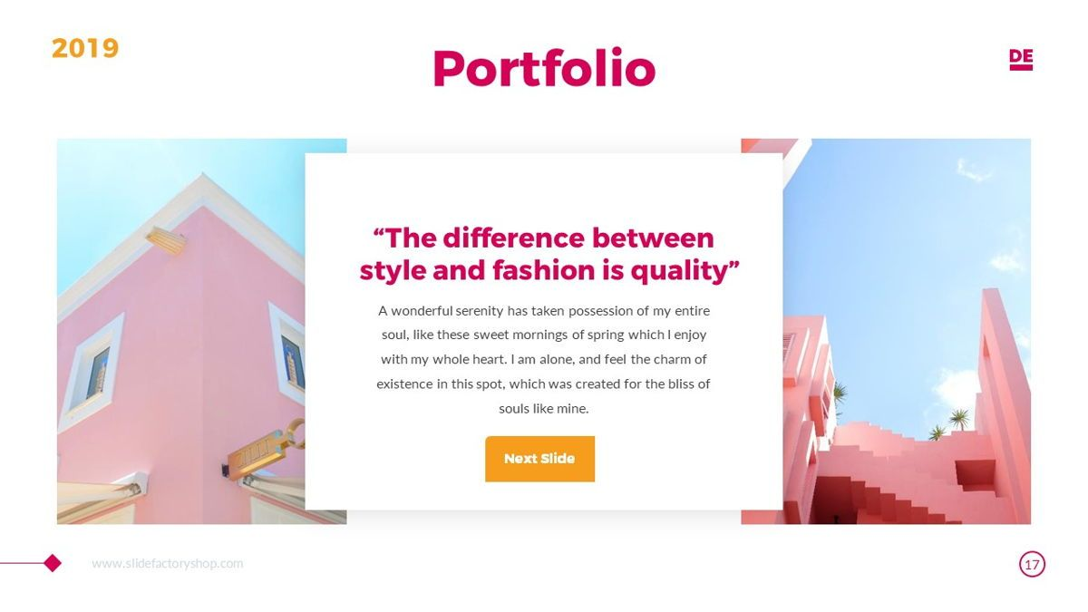 Derulo - Fashion Powerpoint Template, Slide 18, 06371, Data Driven Diagrams and Charts — PoweredTemplate.com
