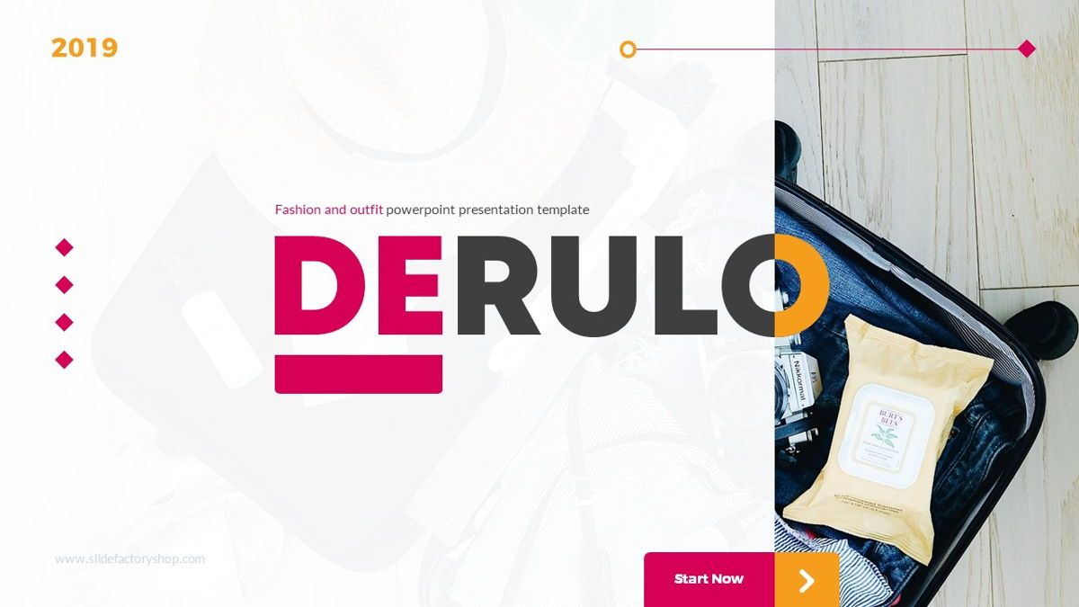 Derulo - Fashion Powerpoint Template, Slide 2, 06371, Data Driven Diagrams and Charts — PoweredTemplate.com