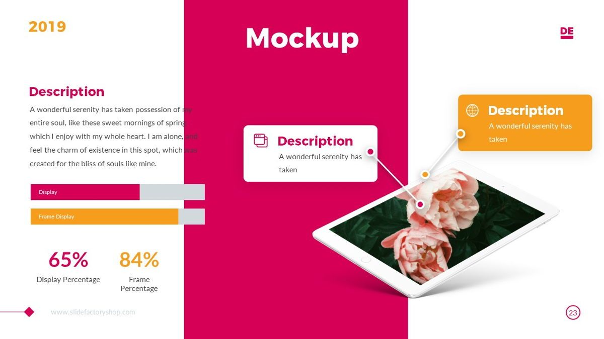 Derulo - Fashion Powerpoint Template, Slide 24, 06371, Data Driven Diagrams and Charts — PoweredTemplate.com