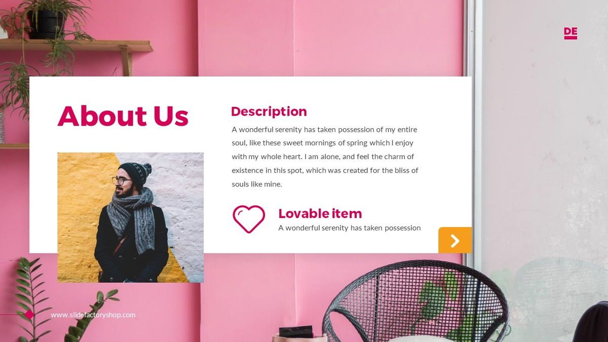Derulo - Fashion Powerpoint Template, Slide 4, 06371, Data Driven Diagrams and Charts — PoweredTemplate.com