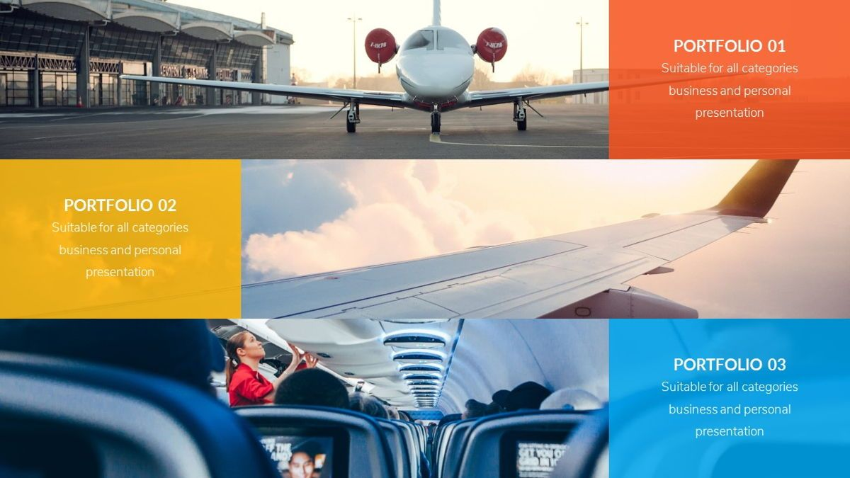 Airwaves - Airlines Powerpoint Template, Slide 13, 06372, Business Models — PoweredTemplate.com