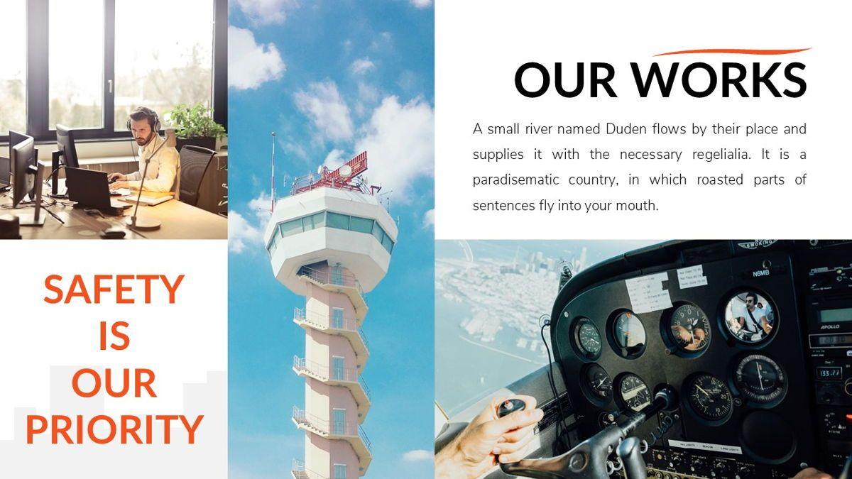 Airwaves - Airlines Powerpoint Template, Slide 14, 06372, Business Models — PoweredTemplate.com