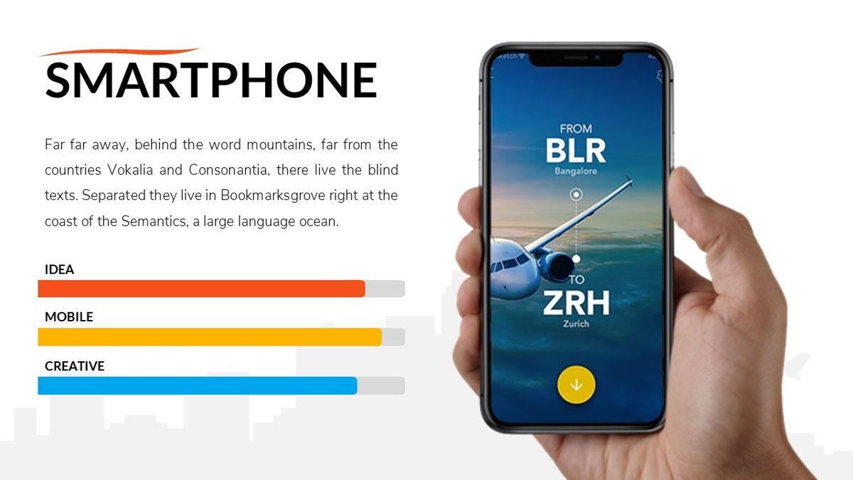 Airwaves - Airlines Powerpoint Template, Slide 17, 06372, Business Models — PoweredTemplate.com