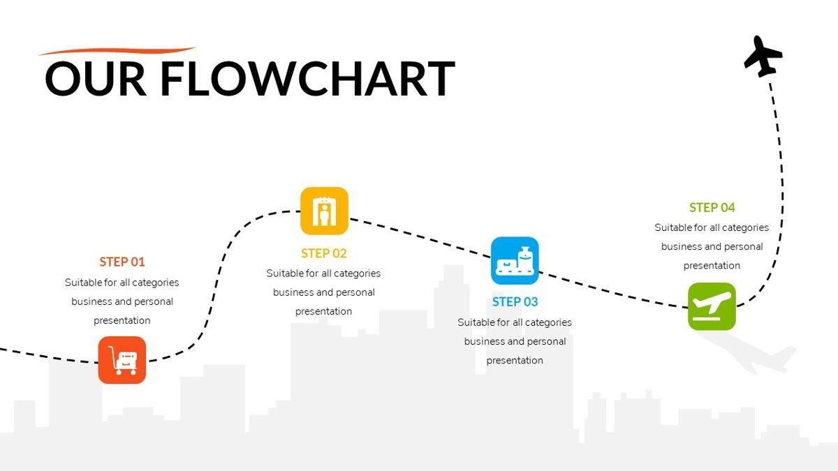 Airwaves - Airlines Powerpoint Template, Slide 19, 06372, Business Models — PoweredTemplate.com