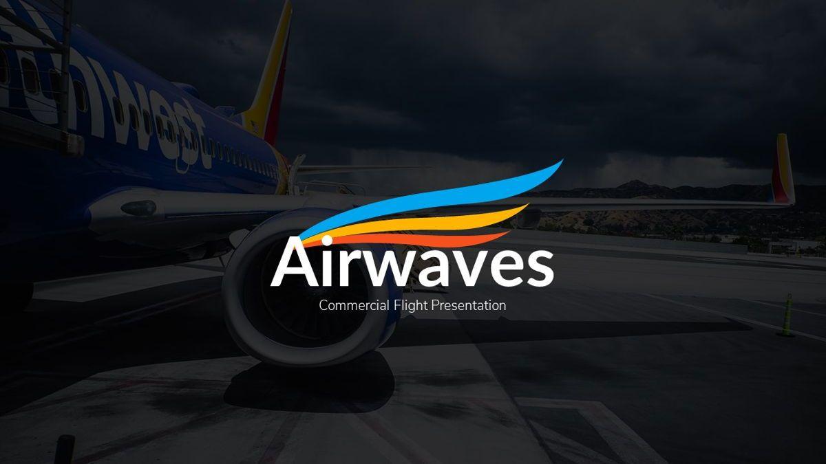 Airwaves - Airlines Powerpoint Template, Slide 2, 06372, Business Models — PoweredTemplate.com