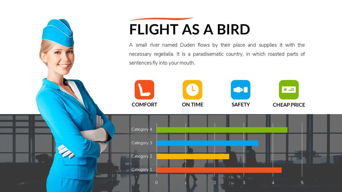 Airwaves - Airlines Powerpoint Template, Slide 24, 06372, Business Models — PoweredTemplate.com