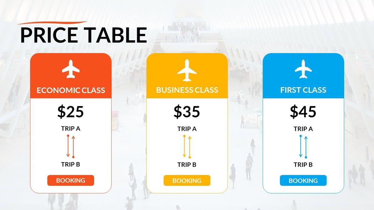 Airwaves - Airlines Powerpoint Template, Slide 27, 06372, Business Models — PoweredTemplate.com