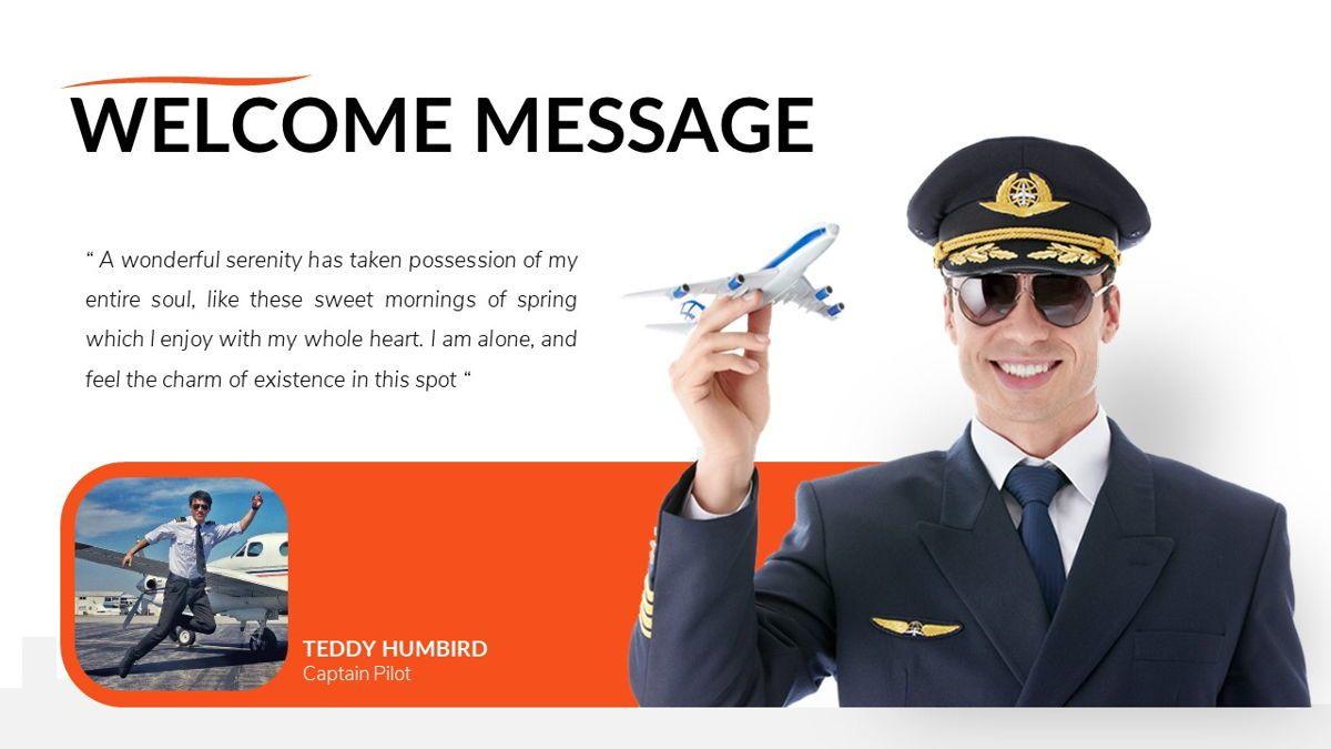 Airwaves - Airlines Powerpoint Template, Slide 4, 06372, Business Models — PoweredTemplate.com