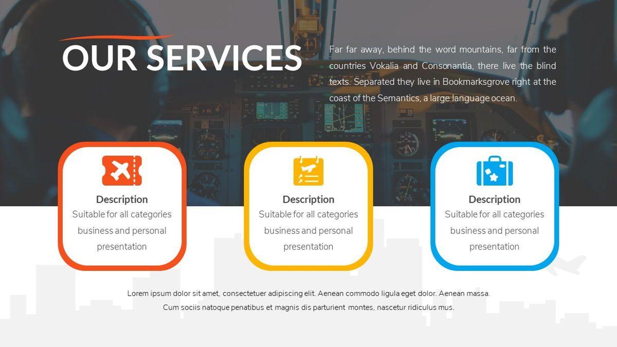Airwaves - Airlines Powerpoint Template, Slide 5, 06372, Business Models — PoweredTemplate.com