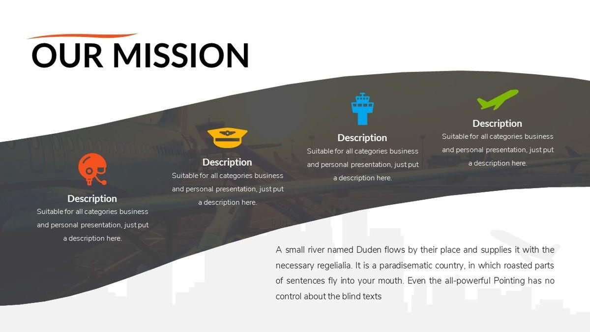 Airwaves - Airlines Powerpoint Template, Slide 6, 06372, Business Models — PoweredTemplate.com